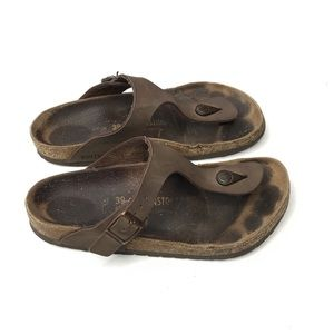 Birkenstock Thing Classic Cork Sandal Vegan Brown
